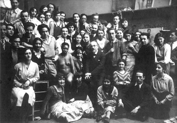 Lucien Simon et ses élèves vers 1930