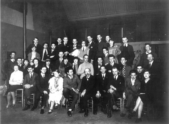 Lucien Simon et ses élèves