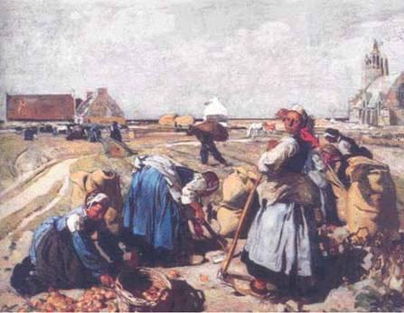 La récolte de 1907 Musée des Beaux Arts de Quimper