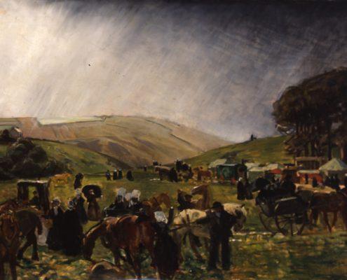 L'arrivée au Pardon de Saint-Anne - 1912