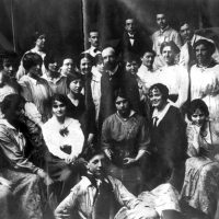 Lucien Simon et ses élèves à la Grande Chaumière