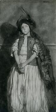 Portrait de Pauline au turban, Lucien Simon, 1916