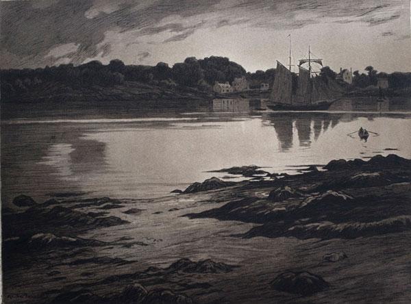 Sainte Marine, vers 1905