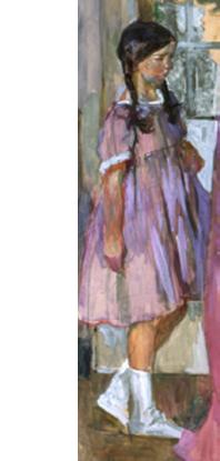 Visite du peintre Aman-Jean au Sémaphore