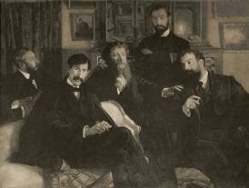 Photo de la peinture intitulée