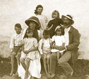 En famille vers 1909