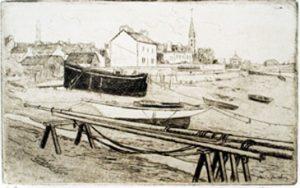 Bénodet 13,7/21,7, vers 1900