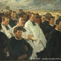 Procession à Penmarc'h - 1900 Huile sur toile, 134x175 Paris, musée d'Orsay