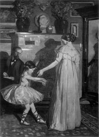 La leçon de danse de Lucien Simon
